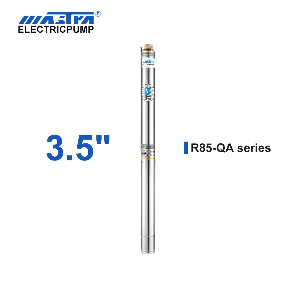 60Hz Mastra 3.5 inch submersible pump - R85-QA series residential irrigation systems